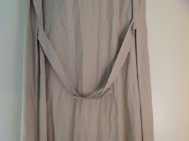 Tan Sleeveless Button Up Dress by Cimmaron Collared V Neckline Size 16 image 7