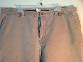 Tan Size 40 Pants The Territory Ahead Front Back Pockets Zipper Button Closure image 2