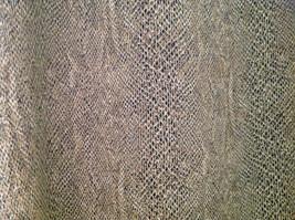 Tan Snakeskin Patterned Matching Sleeveless Shirt and Skirt Liz Claiborne Size 6 image 8