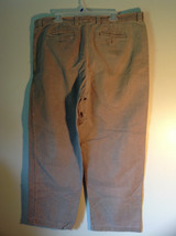 Tan Size 40 Pants The Territory Ahead Front Back Pockets Zipper Button Closure image 4
