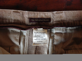 Tan Size 40 Pants The Territory Ahead Front Back Pockets Zipper Button Closure image 5