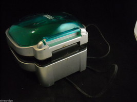 Teal Colored George Foreman GR10AB Indoor Grill image 6