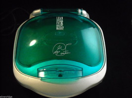 Teal Colored George Foreman GR10AB Indoor Grill image 5