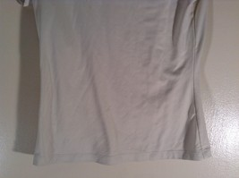 The Limited Stretch Size XL Short Sleeve Off White Top Made in USA image 3