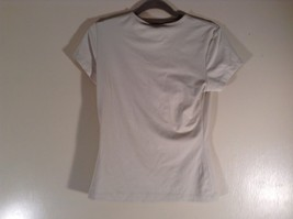The Limited Stretch Size XL Short Sleeve Off White Top Made in USA image 4