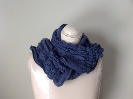 The Magic Scarf Company Gray Blue Cinched Scarf 70 Inches in Length image 2