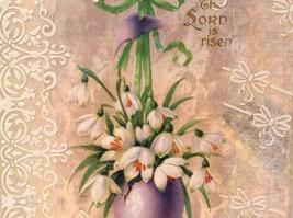 The Lord Is Risen Russian Artist Handmade Vintage Canvas Artist L Mironova image 3