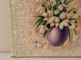 The Lord Is Risen Russian Artist Handmade Vintage Canvas Artist L Mironova image 8