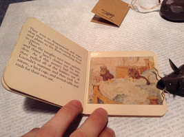 The Story of Two Bad Mice by Chatham River Story Book Pair of Brown Wooden Mice image 4