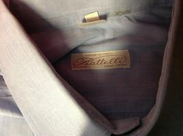 Tiatteli Mens Light Blue Long Sleeve Dress Shirt Made in Italy Size 16 Regular image 5