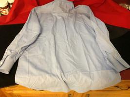 Tiatteli Mens Light Blue Long Sleeve Dress Shirt Made in Italy Size 16 Regular image 9