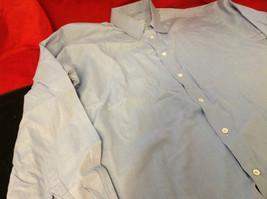 Tiatteli Mens Light Blue Long Sleeve Dress Shirt Made in Italy Size 16 Regular image 8