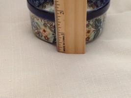 Unikat Polish Stoneware small custard cup or condiment  bowl  QVC Gorgeous image 3