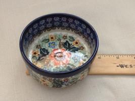 Unikat Polish Stoneware small custard cup or condiment  bowl  QVC Gorgeous image 4