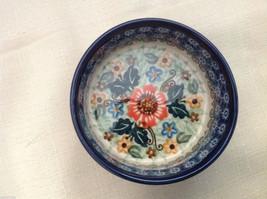 Unikat Polish Stoneware small custard cup or condiment  bowl  QVC Gorgeous image 2