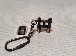 Vagabond Binoculars Keychain Can See Through Actual Binoculars Small Carabineer image 5