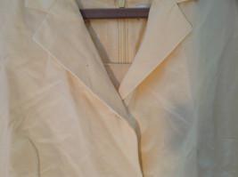 Valerie Stevens Light Peach 2 Piece Tank Dress and Blazer Dress Size 16 image 3