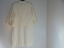 Valerie Stevens Light Peach 2 Piece Tank Dress and Blazer Dress Size 16 image 6