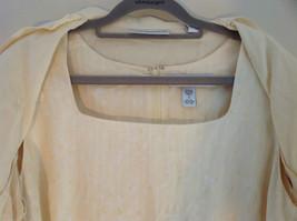 Valerie Stevens Light Peach 2 Piece Tank Dress and Blazer Dress Size 16 image 5