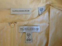 Valerie Stevens Light Peach 2 Piece Tank Dress and Blazer Dress Size 16 image 7