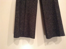 Very Nice Dark Gray with Light Dots H and M Dress Pants Size 6 Knee Lining image 4