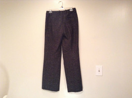 Very Nice Dark Gray with Light Dots H and M Dress Pants Size 6 Knee Lining image 5