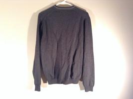 Van Heusen Dark Gray Light V Neck Sweater Size Small Petite 100 Percent Cotton image 4