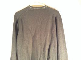 Van Heusen Dark Gray Light V Neck Sweater Size Small Petite 100 Percent Cotton image 5