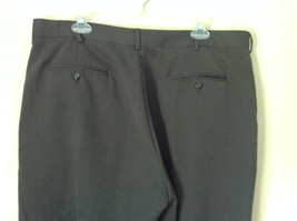 Van Heusen Gray Dress Pants Size 38/32 Cuffed Legs Front and Back Pockets image 5