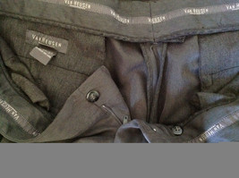 Van Heusen Gray Dress Pants Size 38/32 Cuffed Legs Front and Back Pockets image 7