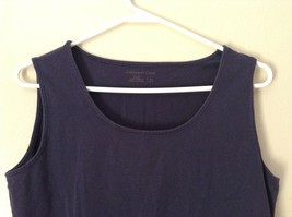 Very Cute Blue Tank Top by Coldwater Creek Size Medium 10 to 12 image 2