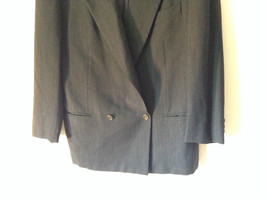 Verri Uomo Italian Suit Jacket Very Dark Gray 100 Percent Wool Size 50 image 3