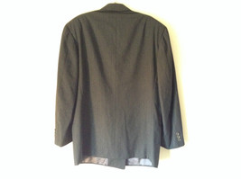 Verri Uomo Italian Suit Jacket Very Dark Gray 100 Percent Wool Size 50 image 5