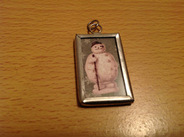 Versatile Reversible Metal Glass Tag Charm Present Tie On Believe in the Magic image 2