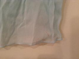 Very Light Baby Blue 100 Percent Silk Scarf image 4