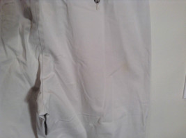 Very Nice Light Gray Size 18W Petite Casual Capri Pants by Lee image 6