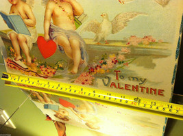"""Vintage """"Be Assured It's You or None that I Love...""""  Valentine's Day Heart image 6"""
