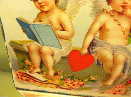 """Vintage """"Be Assured It's You or None that I Love...""""  Valentine's Day Heart image 3"""