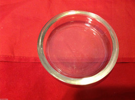 Vintage Copper Poringer Bowl with Glass Dish by Coppercraft Guild Taunton Mass image 4