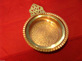 Vintage Copper Poringer Bowl with Glass Dish by Coppercraft Guild Taunton Mass image 6