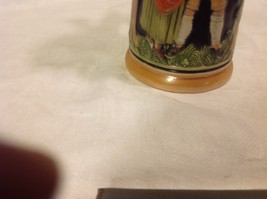 Vintage German lidded ceramic stein from estate mid 1900s #2 image 9