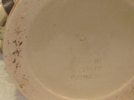 Vintage German lidded ceramic stein from estate mid 1900s #4 image 4