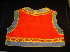 Vintage Hand Embroidered Children's Vest image 2