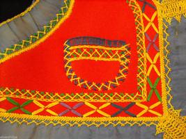 Vintage Hand Embroidered Children's Vest image 6
