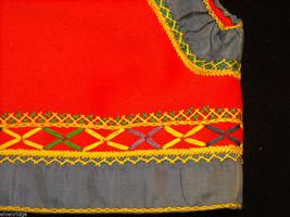 Vintage Hand Embroidered Children's Vest image 4