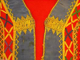 Vintage Hand Embroidered Children's Vest image 5