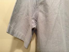Vintage Oxford 100 Percent Cotton Size 42 to 44 Short Sleeve Light Blue Shirt image 5