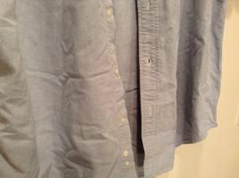 Vintage Oxford 100 Percent Cotton Size 42 to 44 Short Sleeve Light Blue Shirt image 3