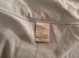 Vintage Oxford 100 Percent Cotton Size 42 to 44 Short Sleeve Light Blue Shirt image 7