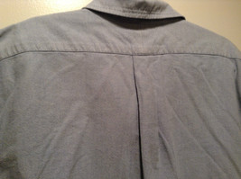 Vintage Oxford 100 Percent Cotton Size 42 to 44 Short Sleeve Light Blue Shirt image 6